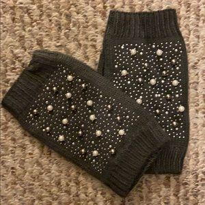Zara Grey gloves